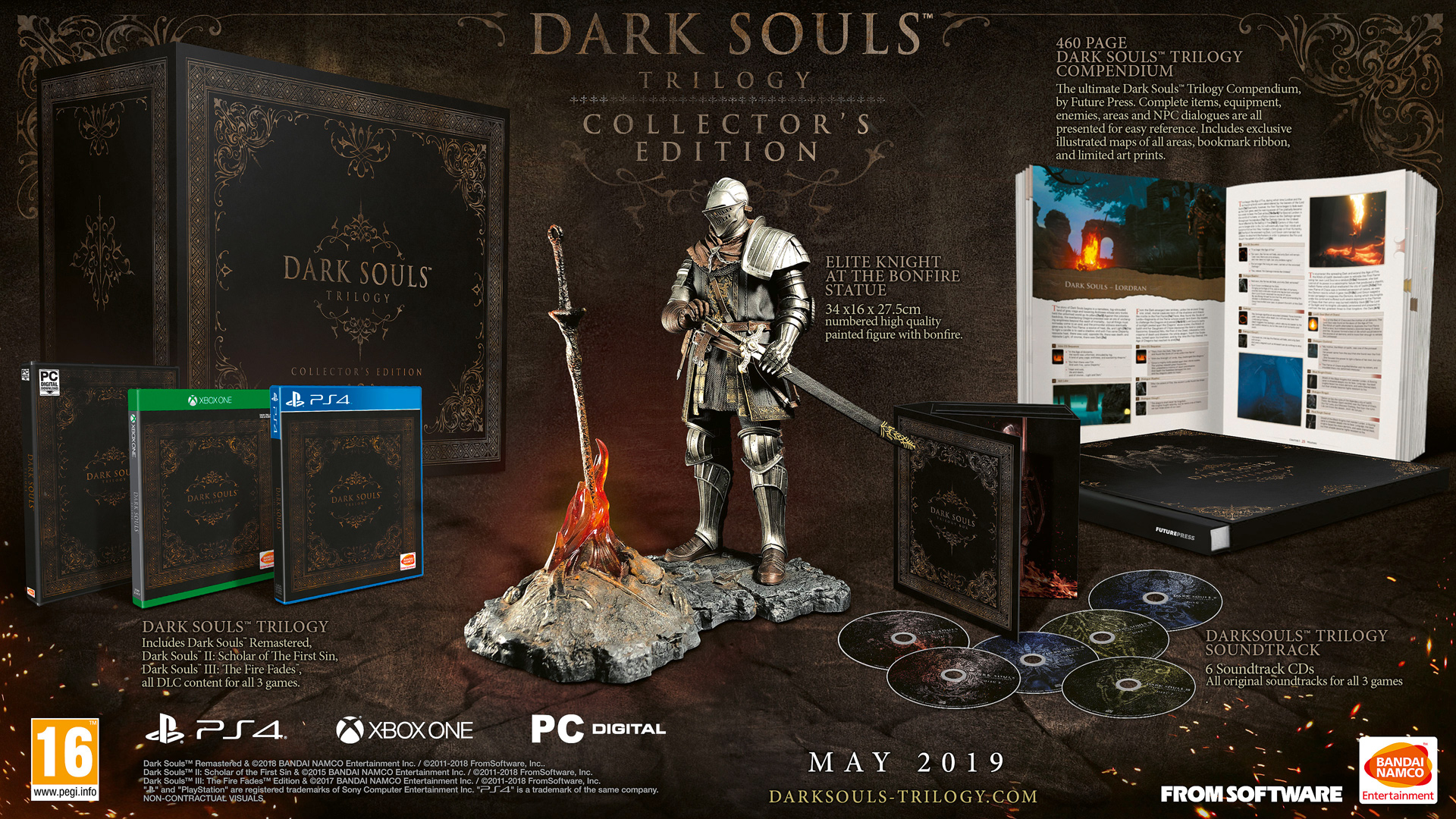Dark Souls Trilogy Releasing In Europe With Limited Special Edition