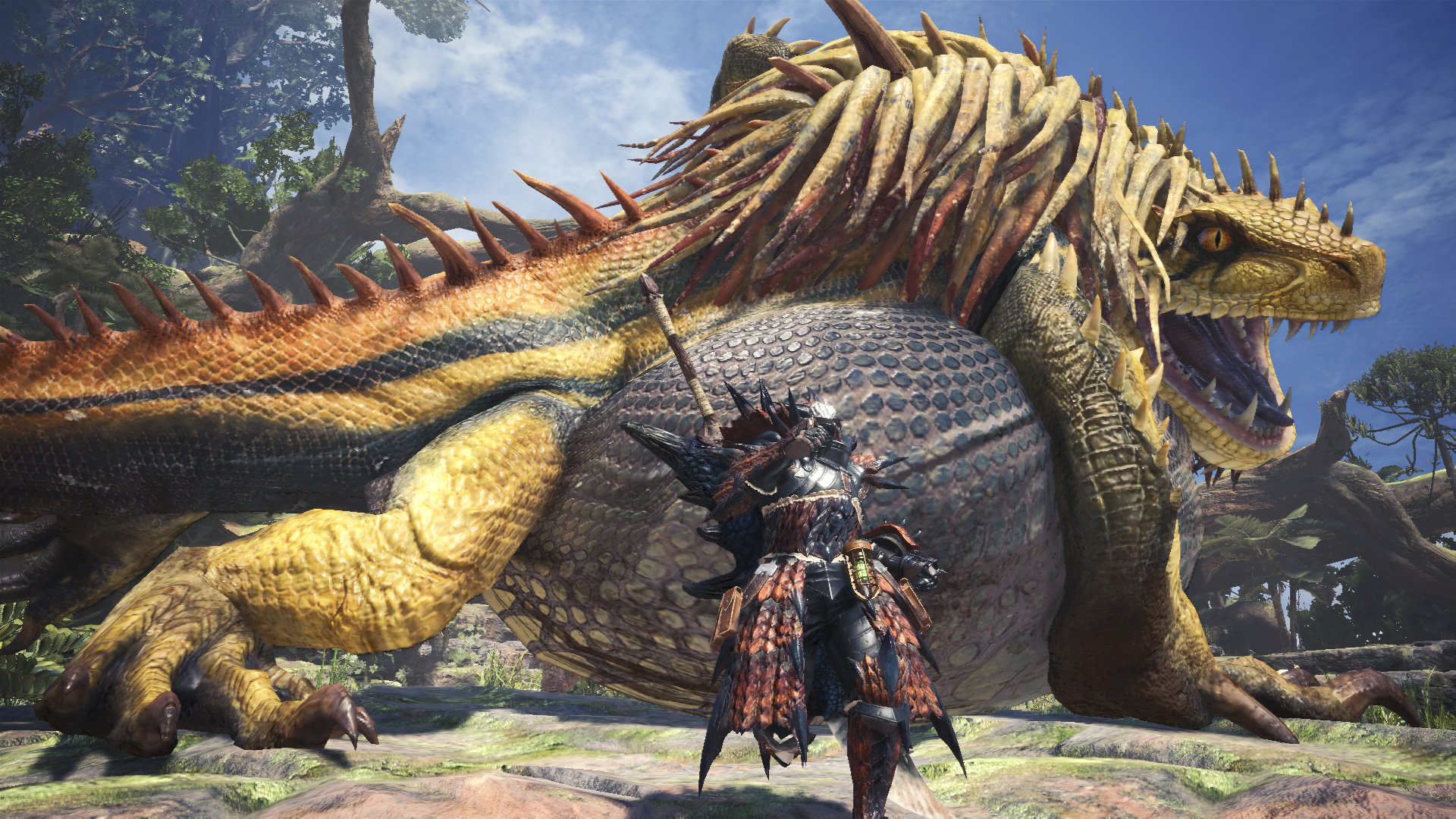 Monster Hunter: World Update Supports 21:9 Resolution