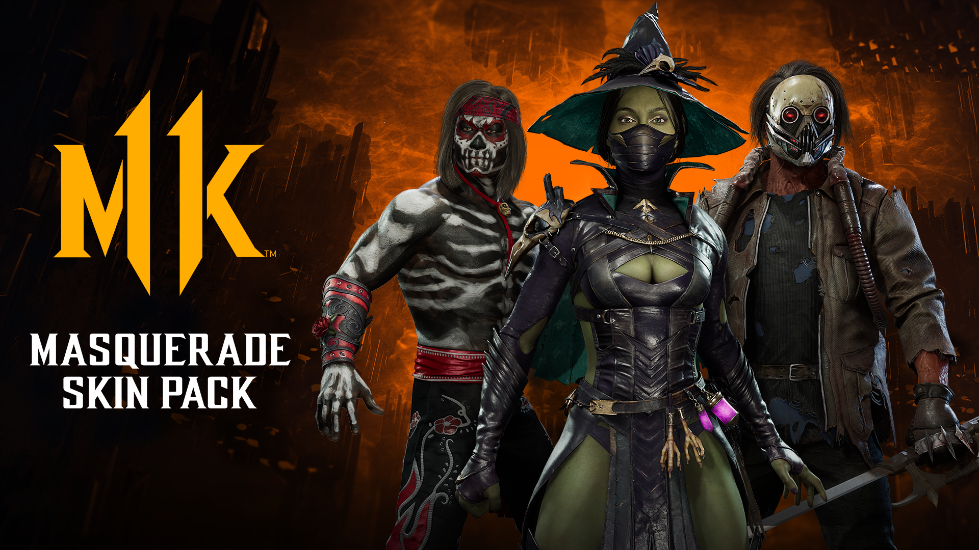 Mortal Kombat 11 Gets Into the Halloween Spirit