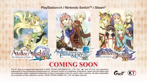 Atelier Dusk Trilogy Deluxe Pack Announced