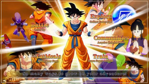 DRAGON BALL Z: KAKAROT Character Progression Showcased in Trailer
