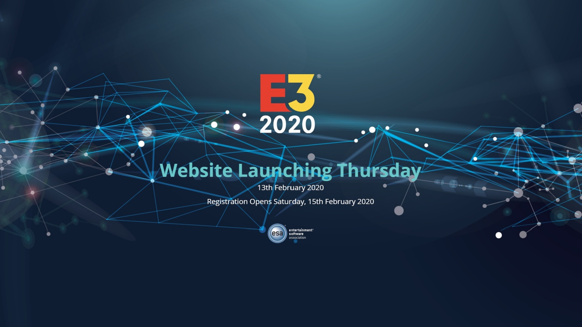 E3 2020 Gets New Details And A Brand New Website