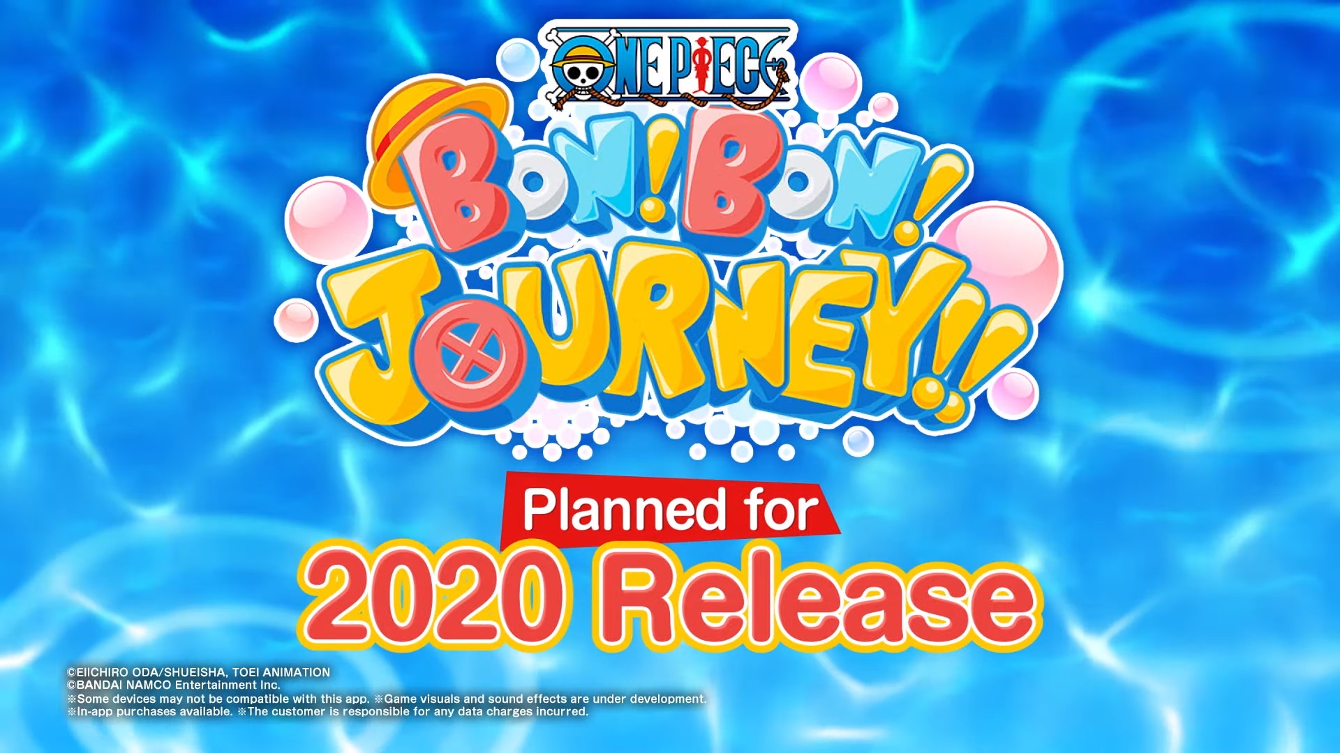 ONE PIECE BON! BON! JOURNEY!! Sets Sail for Adorable Adventures this Year