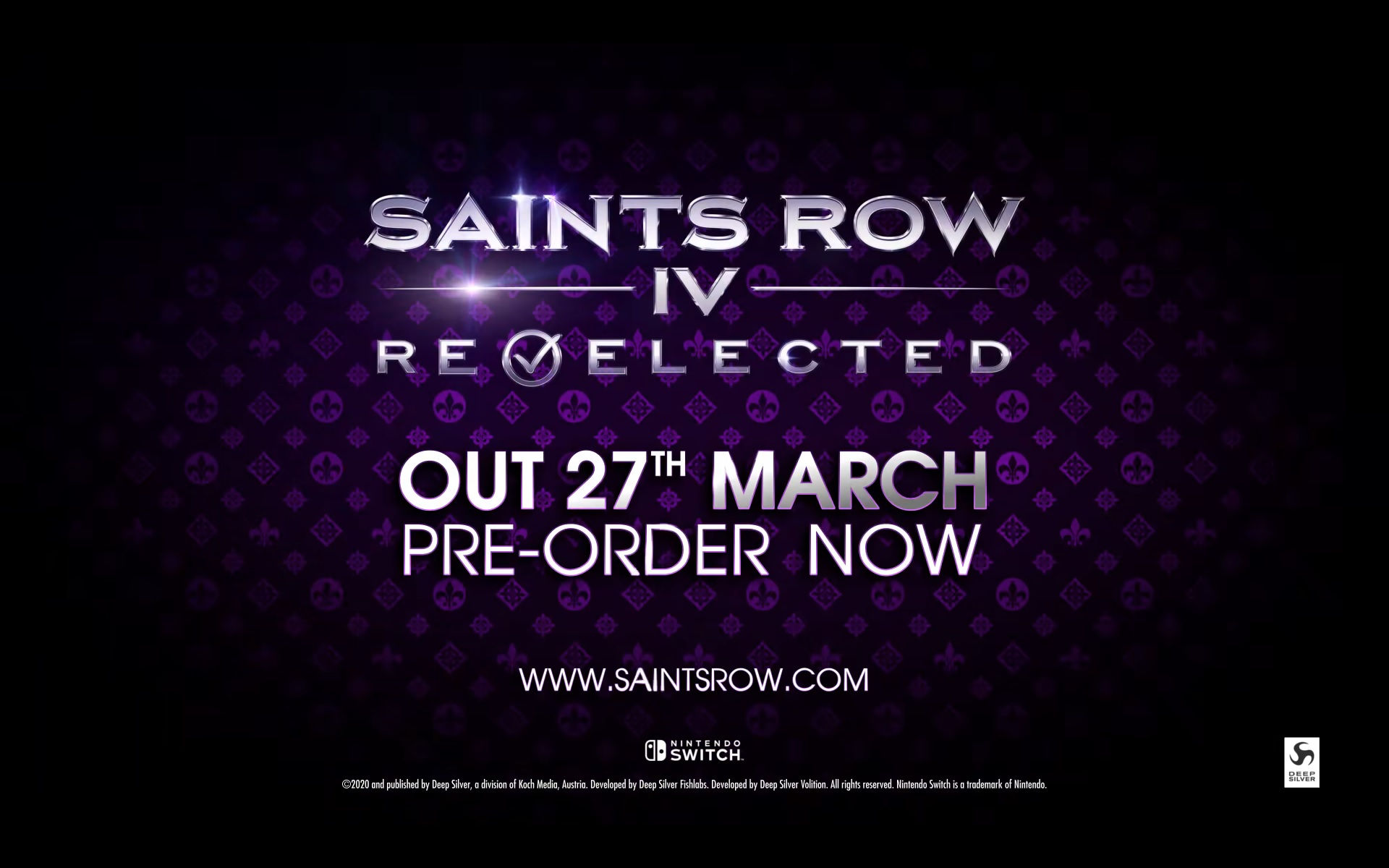 Saints Row IV: Re-Elected Is Coming to Nintendo Switch
