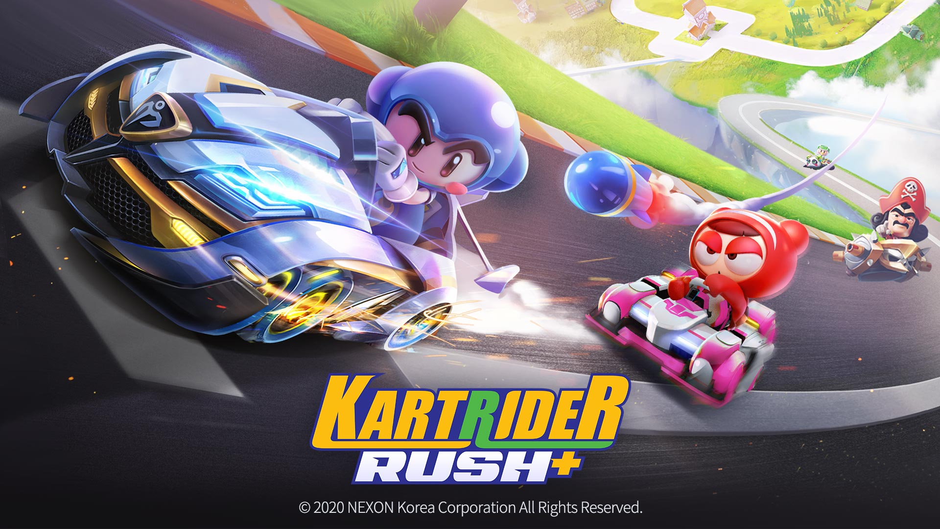 KartRider Rush+ Out Now On Mobile Devices