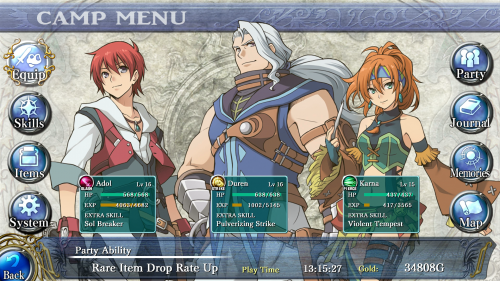 Ys: Memories of Celceta Out Now On PlayStation 4