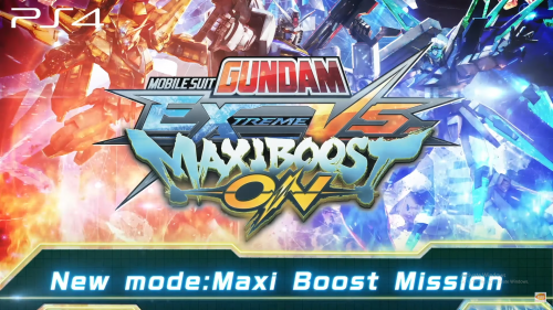 MOBILE SUIT GUNDAM EXTREME VS. MAXIBOOST ON Single Player Trailer Released
