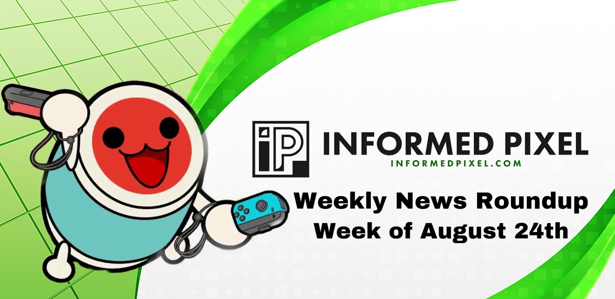 Weekly News Roundup – Week of August 24th