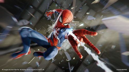Game Recommendation: Marvel's Spider-Man (PlayStation 4)