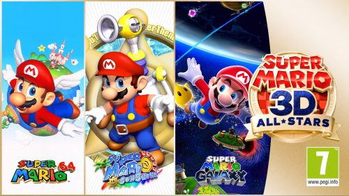 Nintendo Confirmed Super Mario 3D All Stars
