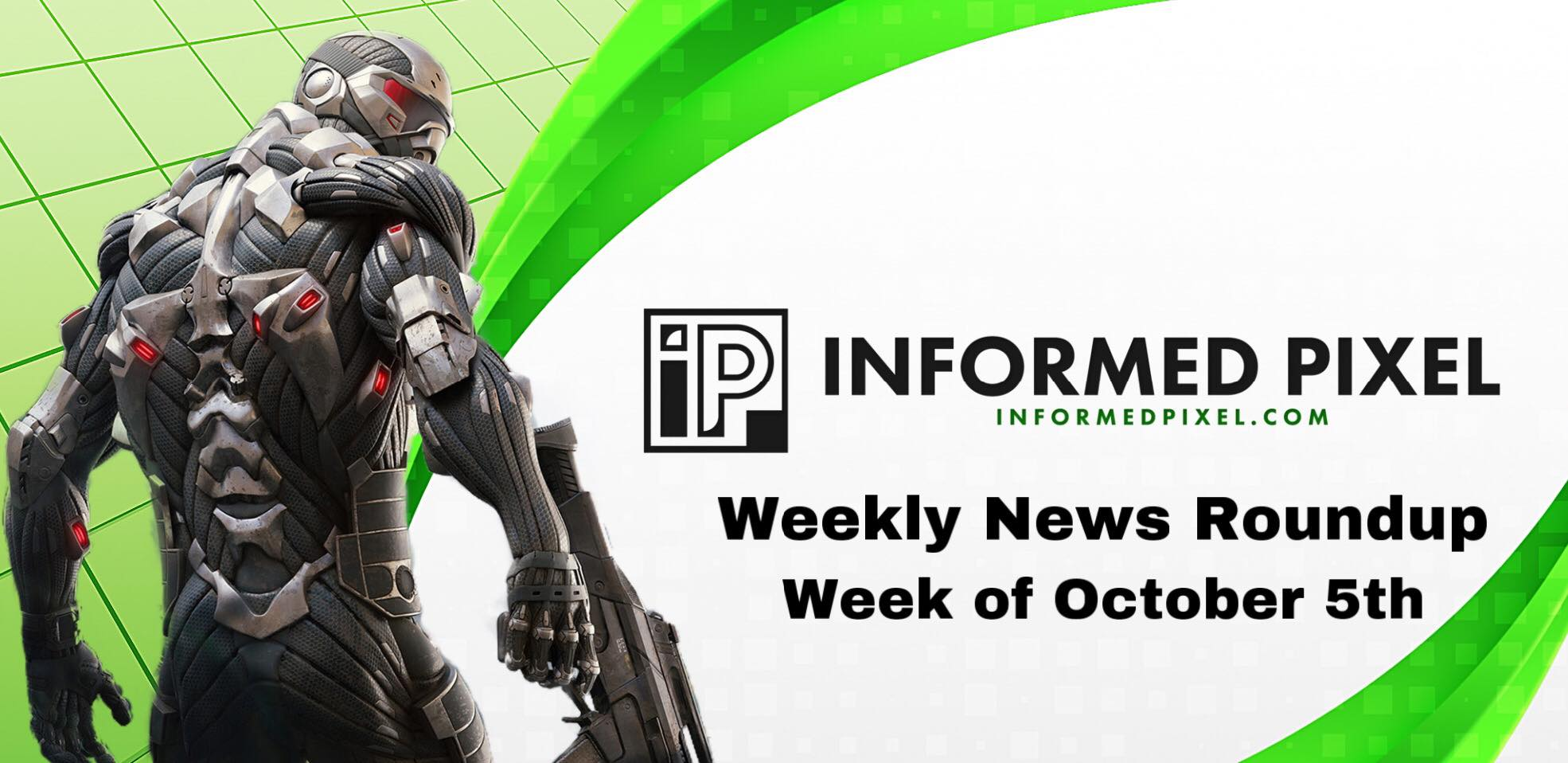 Weekly News Roundup – Week of October 5th