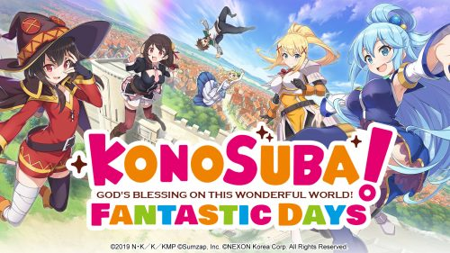 KonoSuba Mobile Game Expands Worldwide Next Year