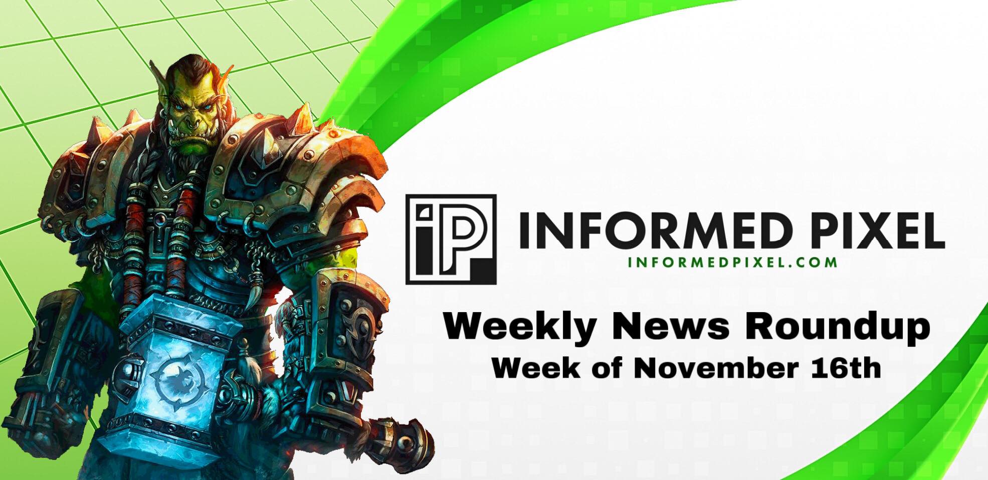 Weekly News Roundup – Week of November 16th