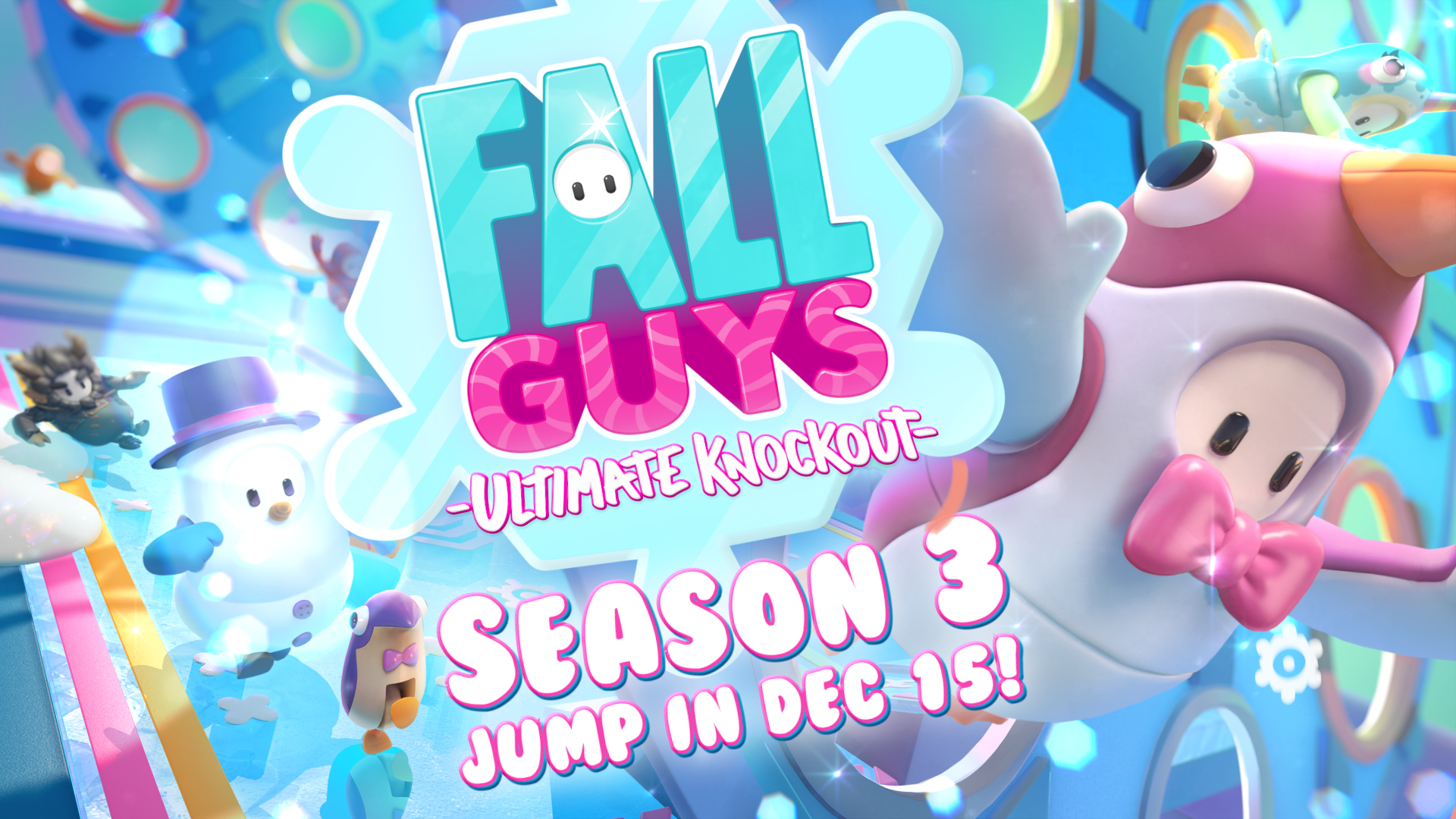 Fall Guys: Ultimate Knockout's Season 3 Has Started