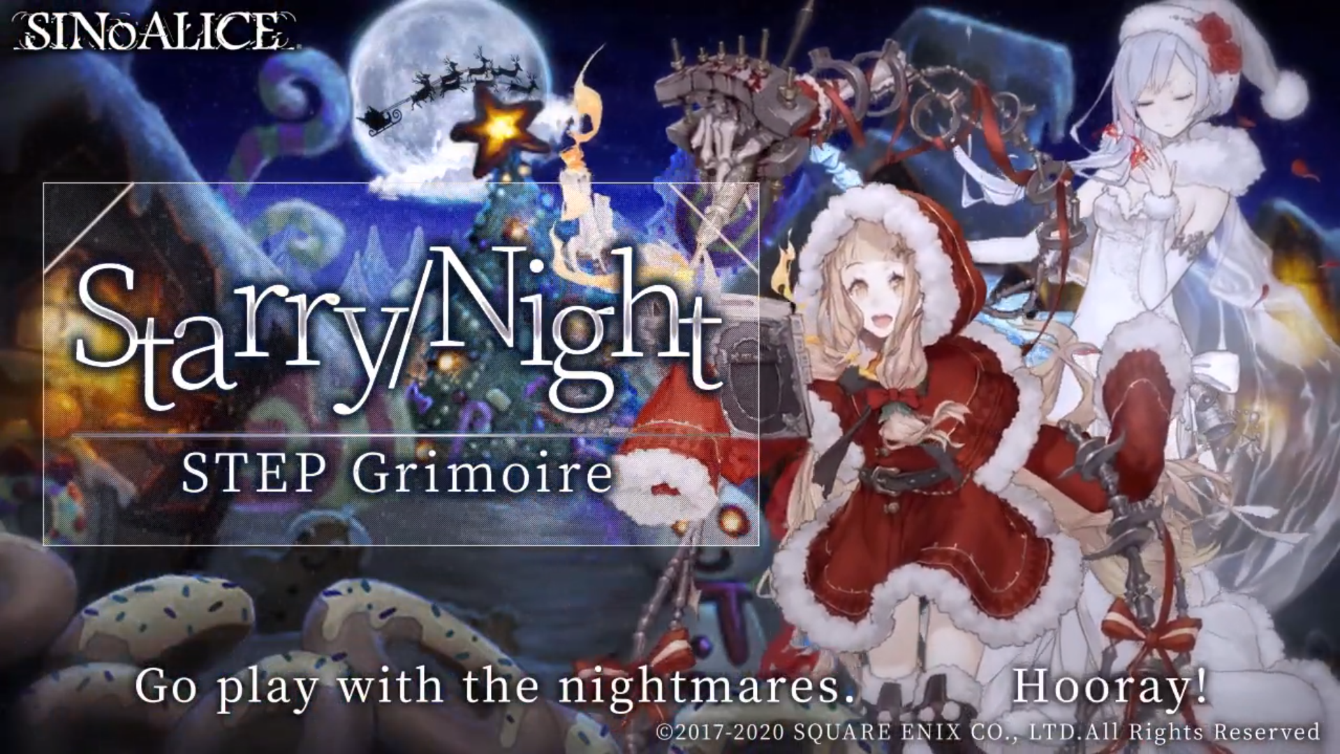 SINoALICE Plans To Release X-mas Feast Event Soon