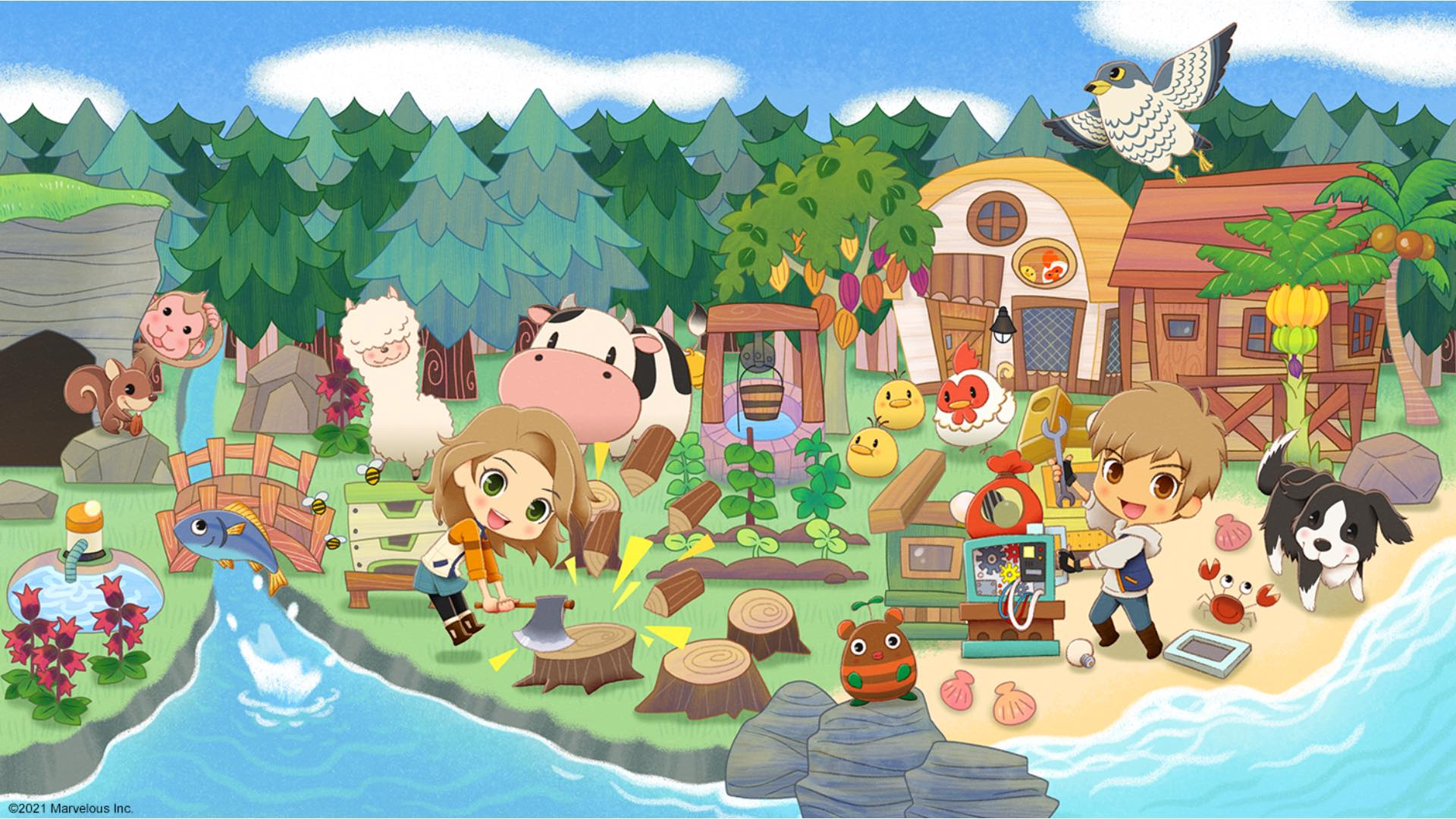 New Trailers Released For Story of Seasons: Pioneers of Olive Town