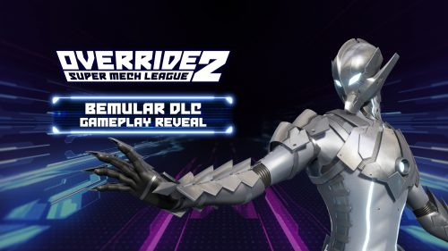 ULTRAMAN's Bemular Arrives in Override 2: Super Mech League
