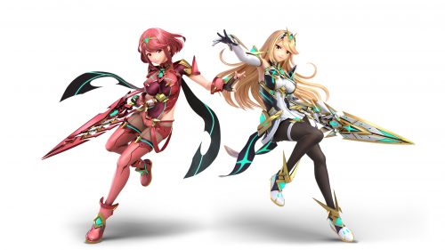 Prya And Mythra Announced For Super Smash Bros. Ultimate Roster