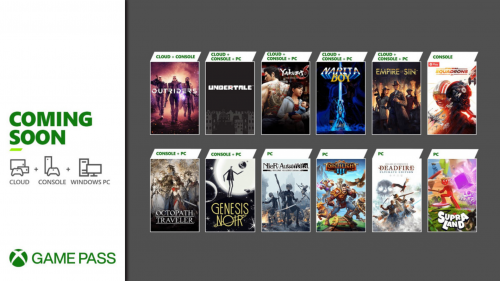 More Great Games Coming to Game Pass