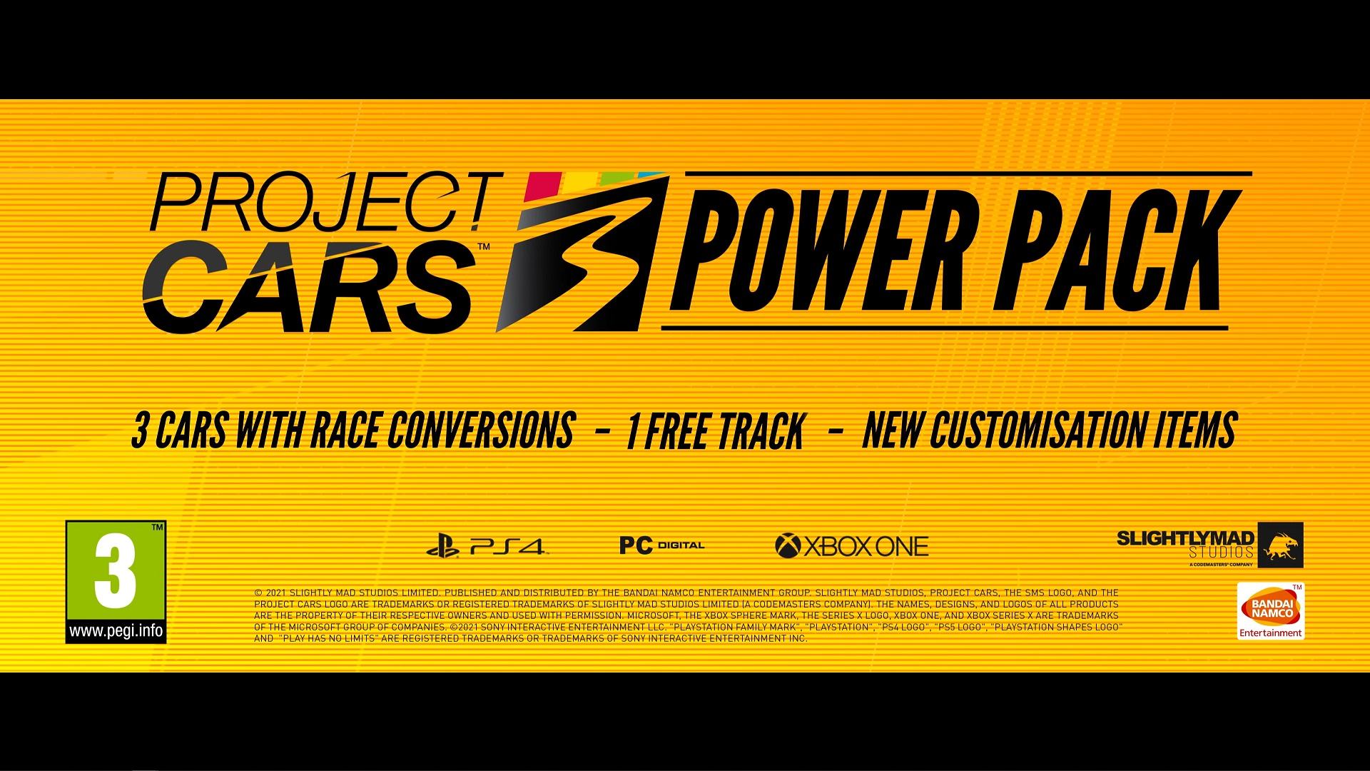 The Project CARS 3 Power Pack DLC Has Launched