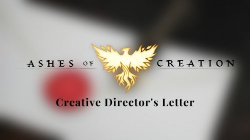 Ashes Of Creation Receives A Creative Director's Update
